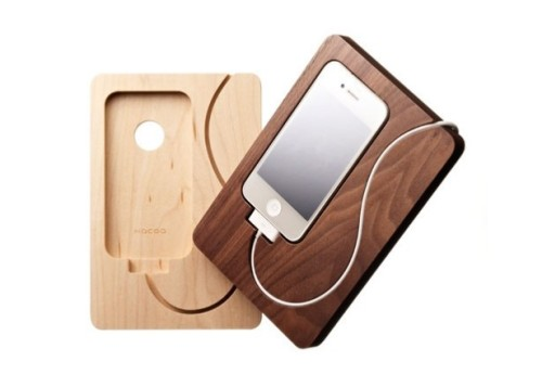 Hacoa Wooden iPhone Dock