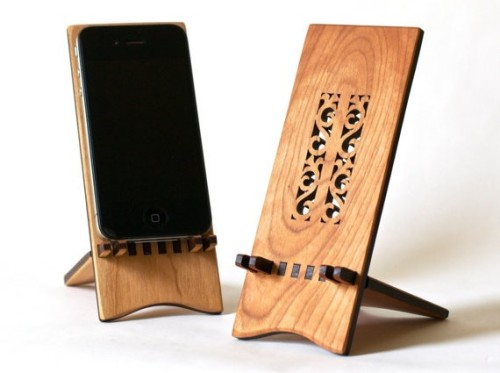 Hannah's Ideas in Wood iPhone Stands