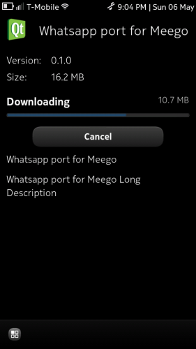 Wazapp for Nokia N9 (1)