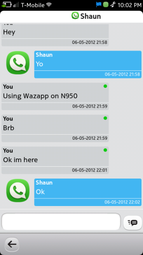 Wazapp for Nokia N9 (9)