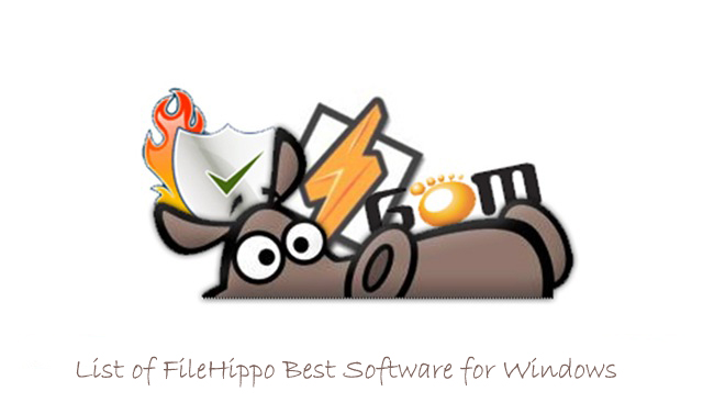 List of FileHippo Best Software for Windows 2013