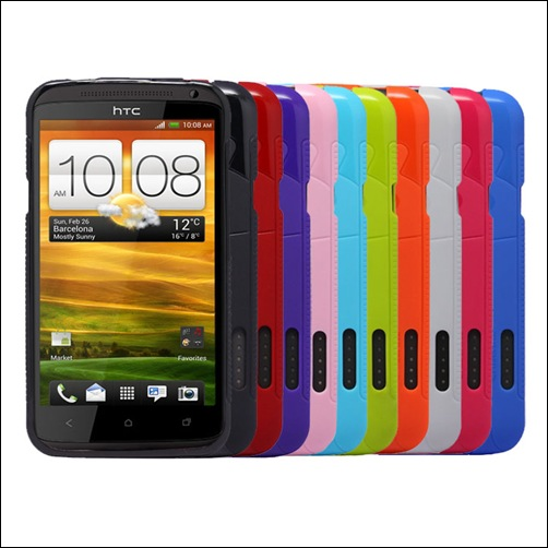 Cruzerlite Androidified A2 TPU Case for HTC One X