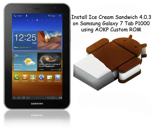 Ice Cream Sandwich Download For Galaxy Tab P1000