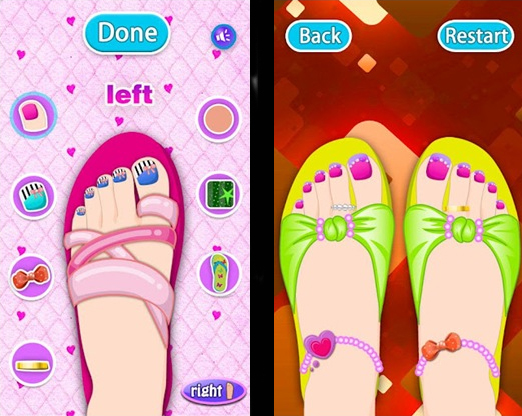 Makeup- Dream Toes for Android