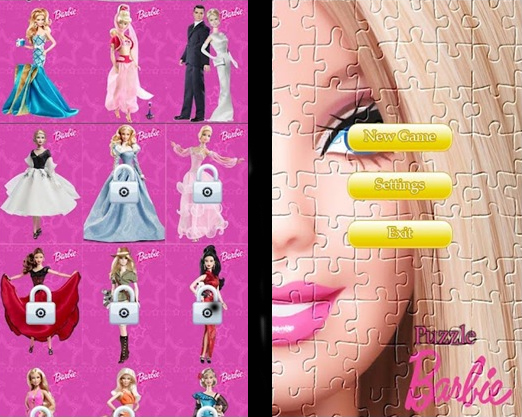 Puzzle Barbie for Android
