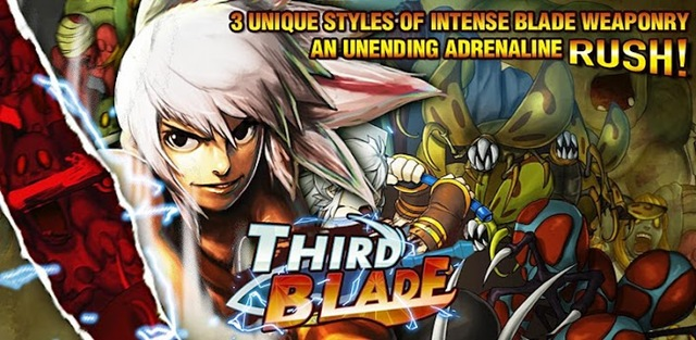 Third Blade Is A Full Action RPG In Which You Have To Wipe Out Horrific Monsters Surrounding Your Path Simple Use Boosts Up With Exhilarating Speed