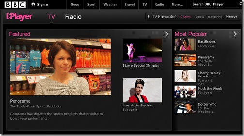 BBC iPlayer-Online tv free