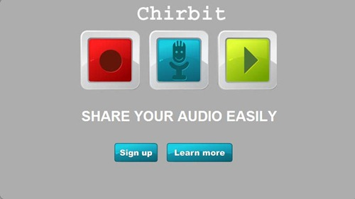 Chirbit-record audio for free copy