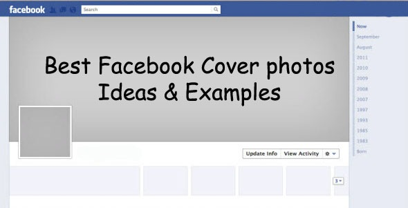 cover photo ideas facebook - 44 Best Cover Examples & Ideas 2014