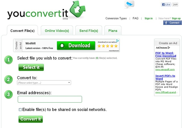 free pdf to html convertor
