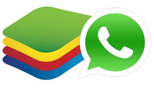 WhatsApp-BlueStacks-Logo