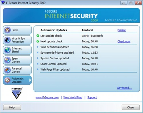 f-secure for windows 8