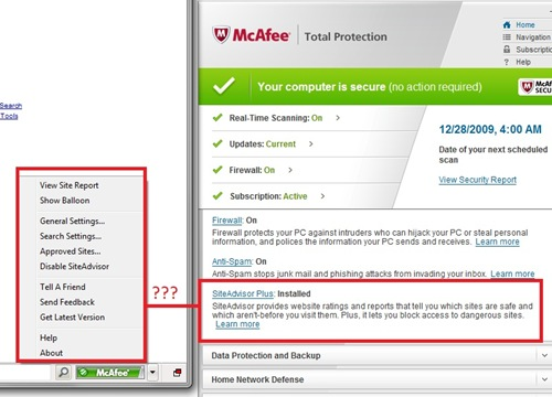 mcafee for windows 8