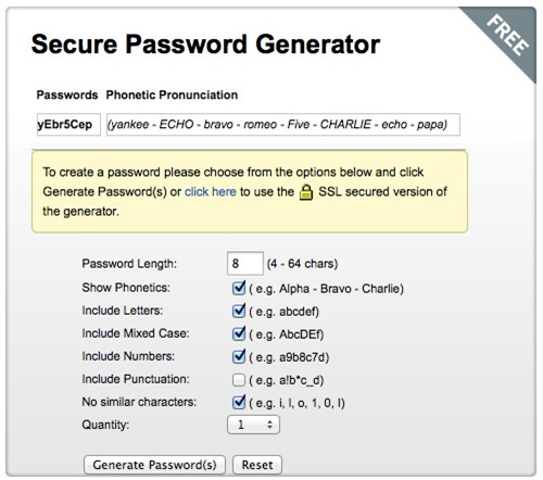 how to make a password generator in python
