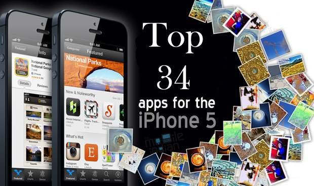 Top-34-apps for iPhone 5
