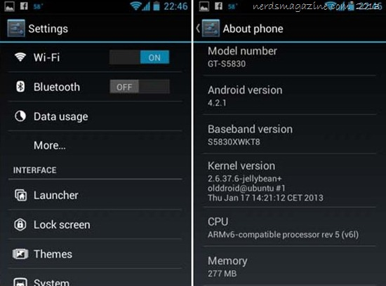 Install Jelly bean 4.1.2 on Samsung Galaxy Ace( cynogenmode 10.1) stable version 2