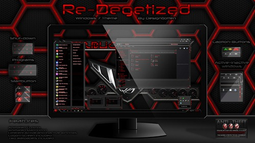 Re_Degetized Windows 7 Theme