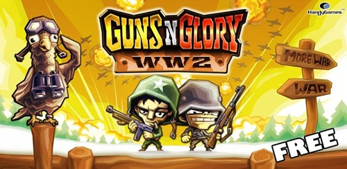 gun n glory ww2 for android