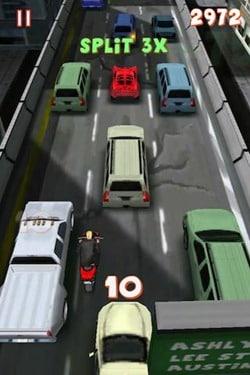 lane splitter for android