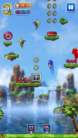 sonic jump for android