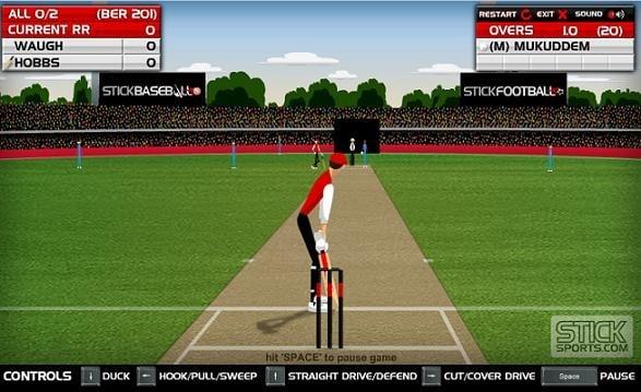 Stick Cricket Flash Game 71
