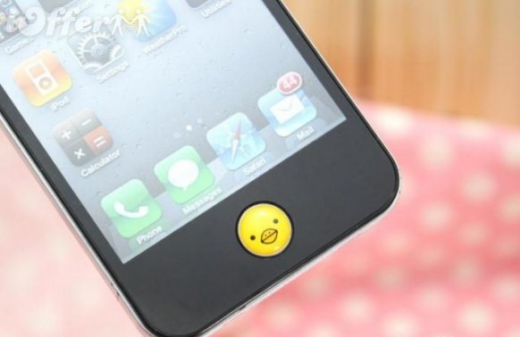 Home Button Sticker for iPhone