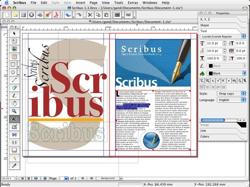 scribus for linux