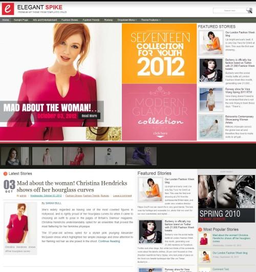 ElegantSpike-Premium Themes site