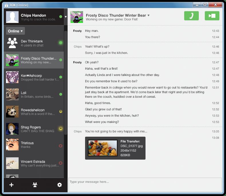 Similar programs to skype / Peoples bank al