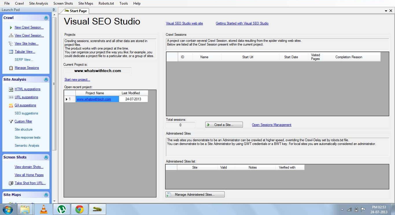 Visual SEO Studio