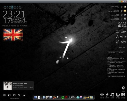 Black parade 7 for Rainmeter