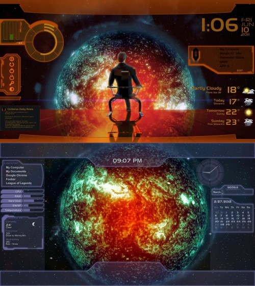Mass Effect Skin for Rainmeter