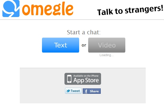 Omegle talk to strangers official site