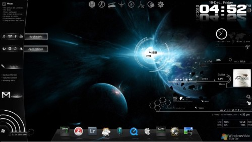 Rainmeter Space