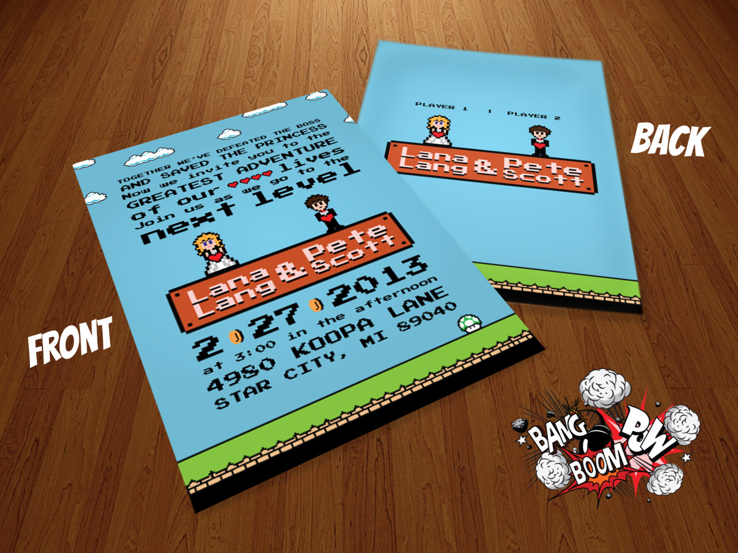 Nerdy Wedding Invitations can inspire you to create best invitation template