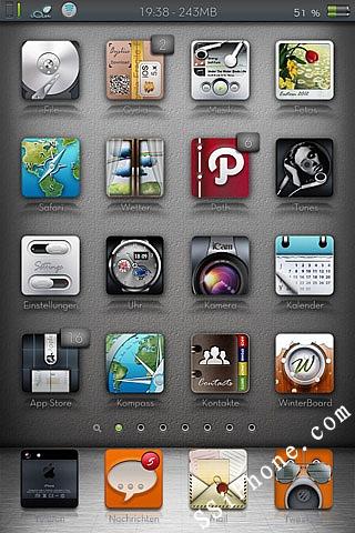 iAce HD Winterboard Theme
