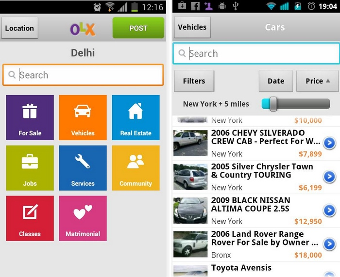 OLX Free Classifieds- Best Android App for Posting Classified for Free