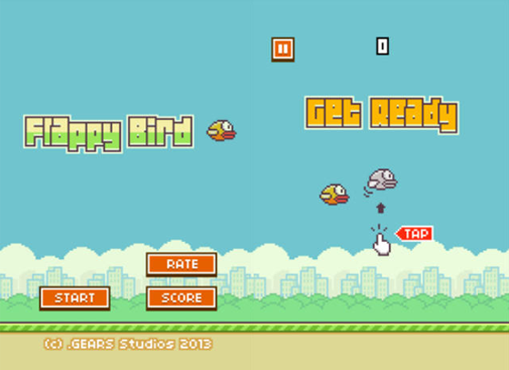 Download Flappy Birds on Android using .apk file
