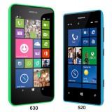 lumia 630 and 520