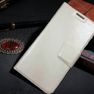 galaxy white leather case