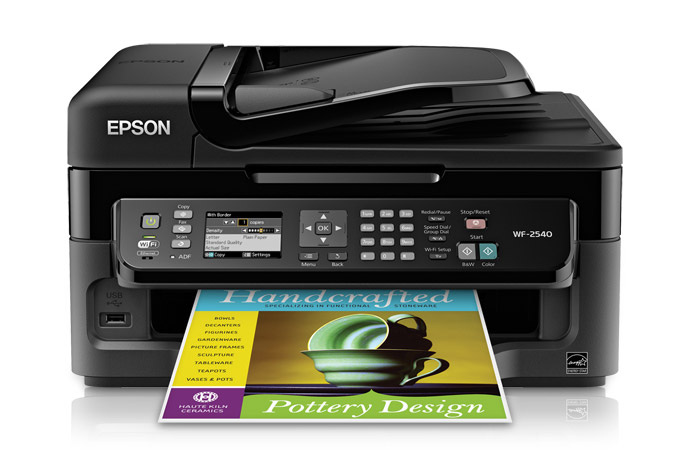 how to connect epson workforce 600 to computer