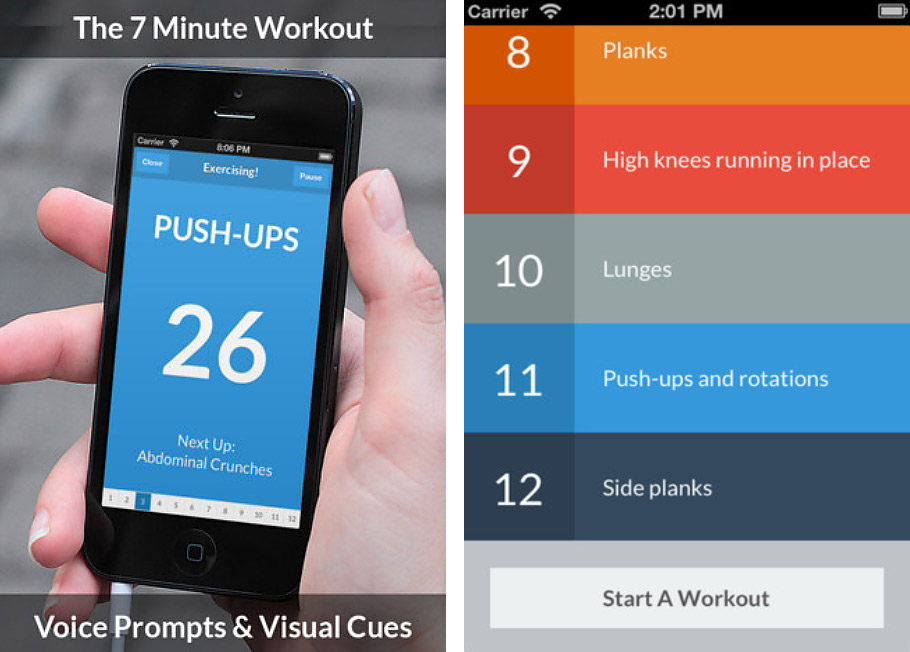Workout Apps Getting In Way Of Exercise
