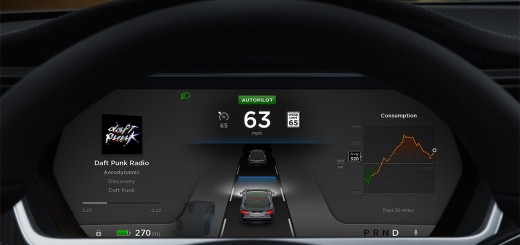 TESLA-Autopilot-Display