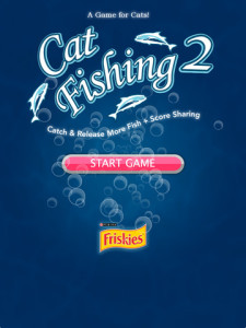Cat fishing 2 - for iPad - Cat play