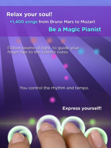Magic Piano - for iPad - Cat play