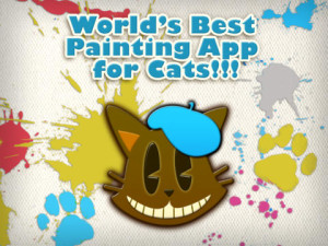 Paint for cats - for iPad - Cat play