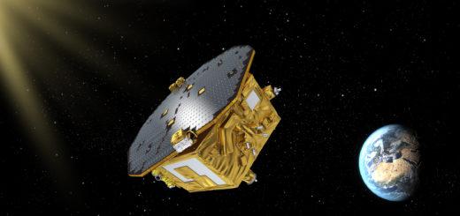 LISA_Pathfinder_in_space